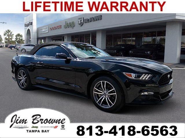 Pre Owned 2017 Ford Mustang Ecoboost Premium