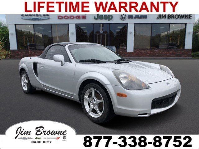 Pre-Owned 2002 Toyota MR2 Spyder Base